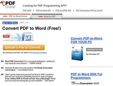 quickest way to convert pdf to word 6 best free pdf to word converters online