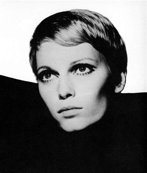 pixie cut from 1960 27 best style icon mia farrow images on pinterest style