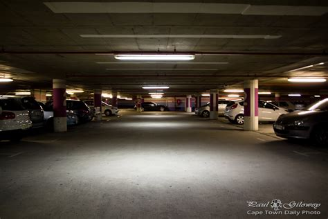 underground parking garage garages cape town daily photo