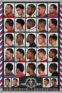 hair cut types for numbers 24 x 36 barber shop salon modern hair cut styling for men