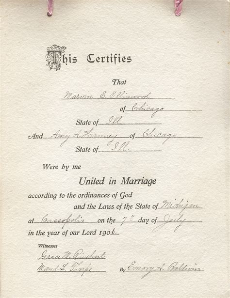 Marriage License Records Louisiana Marriage Licenses In Michigan