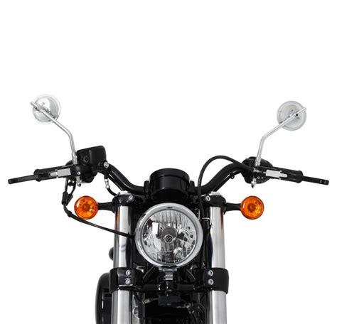 Motorrad Spiegel Chopper by Motorrad Chopper Spiegel Rund Paar Chrome Ebay