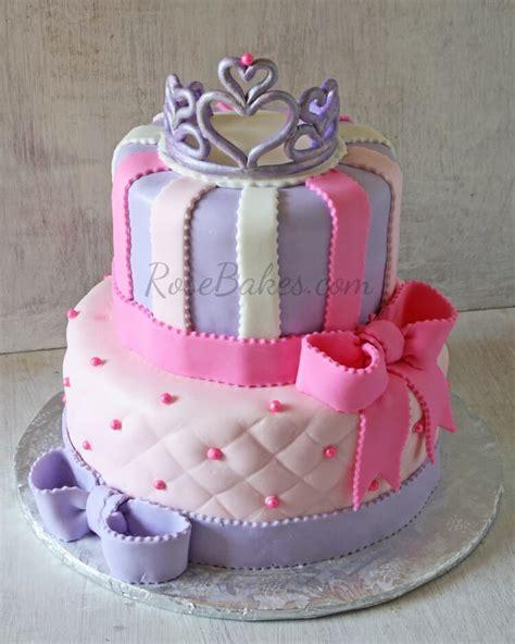 pretty princess cakes rose bakes
