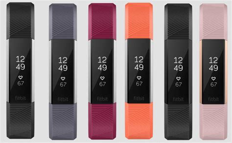 Fitbit Alta Hr Fuschia L Idn fitbit s new alta hr fitness tracker is thinnest with built in rate monitoring canadian