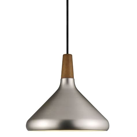 Steel Pendant Lights Nordlux Float 27 Ceiling Pendant Light Brushed Steel