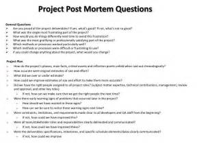 Post Mortem Template Powerpoint ppt project post mortem questions powerpoint presentation id 1569211