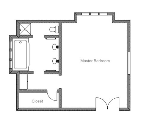 floor plan for master bedroom suite ezblueprint com