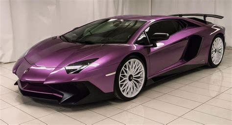 lamborghini aventador purple purple lamborghini aventador sv for the refined