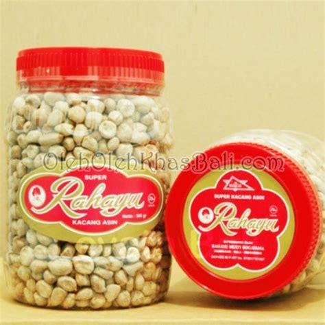 Kacang Asin 500 Gram Khas Makassar jual kacang asin rahayu pecah 500gr toko oleh oleh khas bali