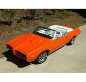 1969 Pontiac GTO The Judge Convertible 24267