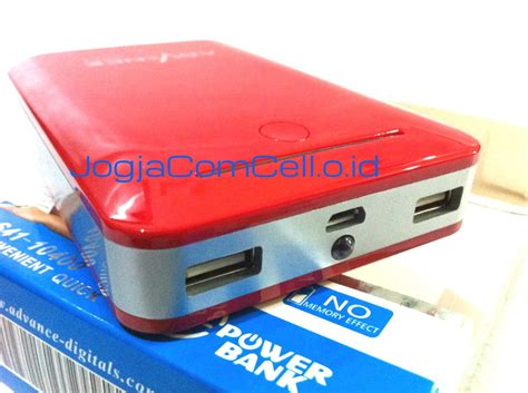 Advance Power Bank S41 10400mah pb advan 10400 jogj jogjacomcell co id