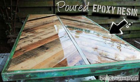 outdoor bar top finish http beachbumlivin com pallet wood coffee table