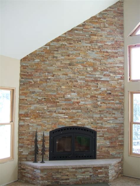 how to stone a fireplace how to stone veneer fireplace 2994