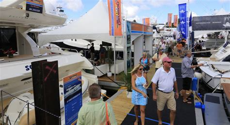 fort lauderdale boat show results study flibs has 857 million economic impact