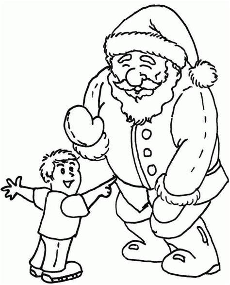 santa anna coloring page santa claus template printable coloring home
