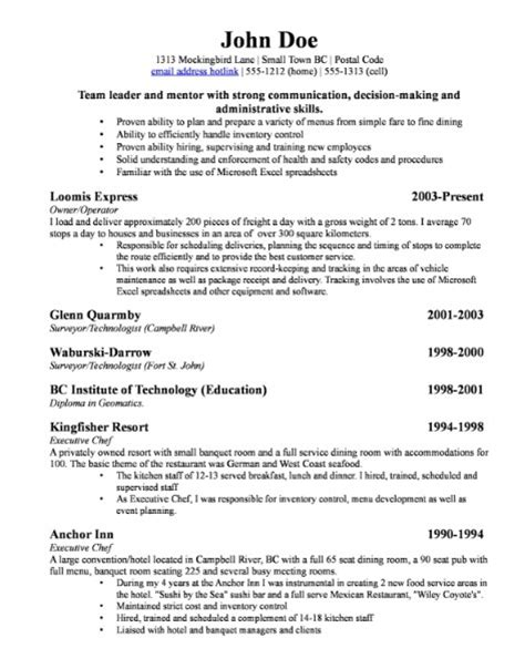 small business owner resume sle resume cover letter