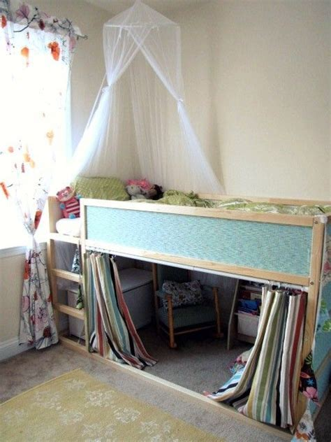 ikea kura loft bed the ikea kura loft bed makeover storage ideas for kids