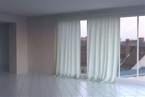 curtain  cgtrader
