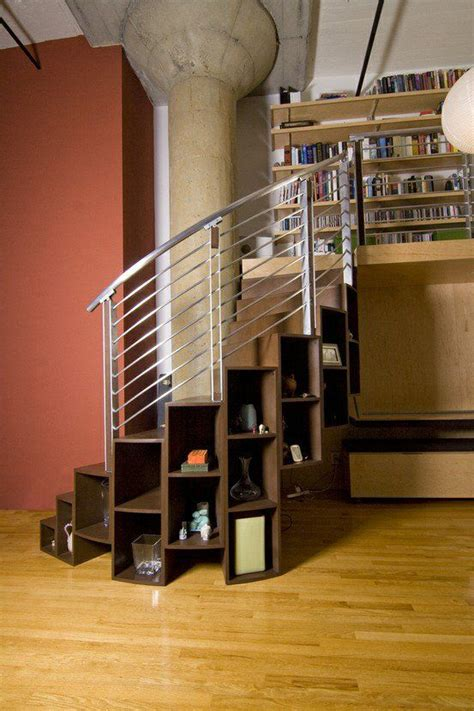 great    space   spiral staircase