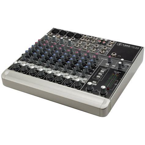 Mixer Mackie mackie 1202 vlz3 series compact mixer