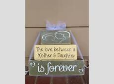 mother and daughter is forever mom birthday grandma gift home decor