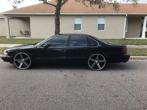96 impala ss wheels for sale 1994 impala ss w 24inch iroc z wheels for sale chevrolet