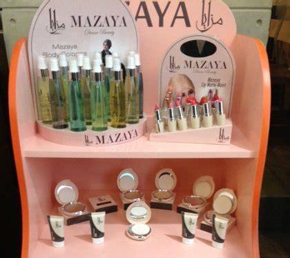 Bedak Amaranthine mazaya label kosmetik terbaru bersertifikat halal dengan