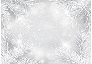 free silver glitter christmas vector background download