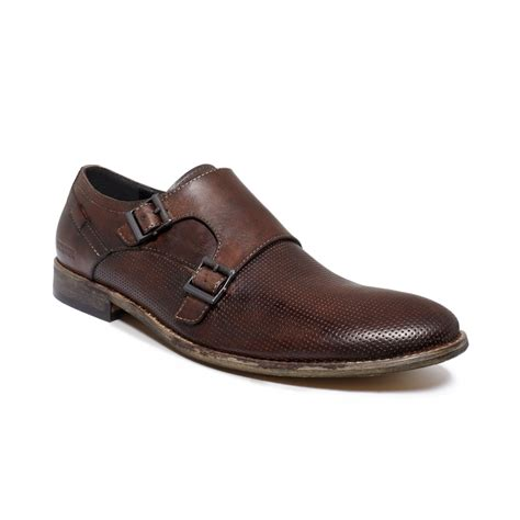 kenneth cole brown shoes kenneth cole reaction pin monk shoes in brown