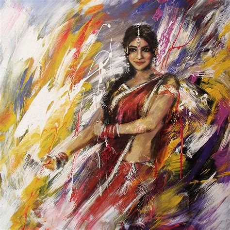 biography of indian classical artist classical dance art 14 painting by maryam mughal