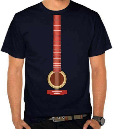 Kaos Distro Guitar jual kaos guitar musik casual satubaju