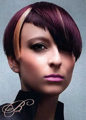 best hairstyle ideas for length black hairstyles with plum highlights