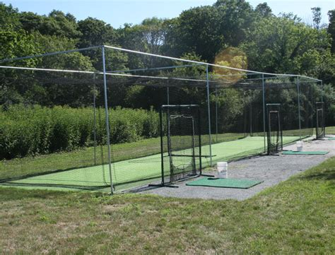 backyard nets outdoor batting cage for baseball softball on deck sports