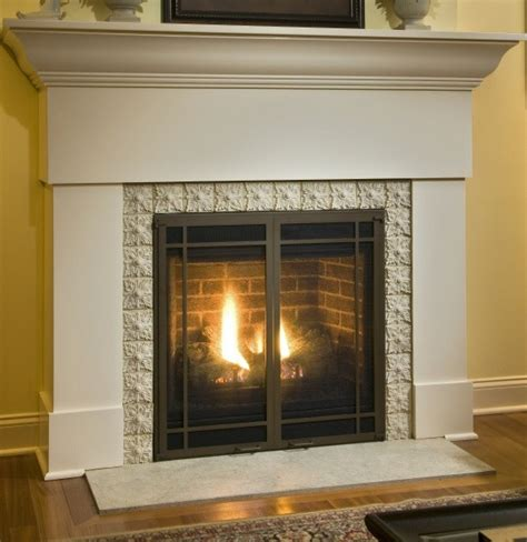 Gas Fireplace Makeover gas fireplace makeover after photo traditional