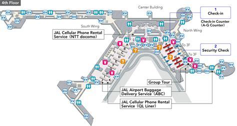 narita airport floor plan narita international airport terminal1 jal international