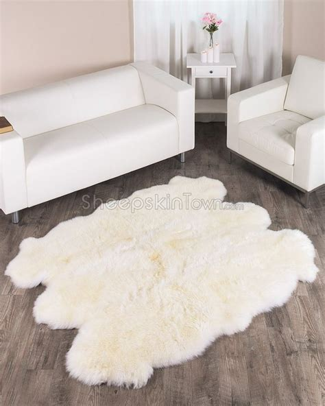 large sheepskin rugs 25 best ideas about large sheepskin rug on