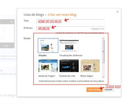 layout blog como fazer como fazer um blog blogspot em 5 minutos como fazer