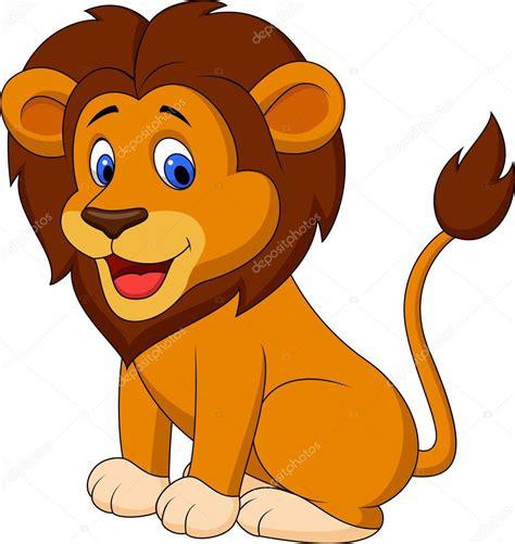 imagenes animadas leon le 243 n divertidos dibujos animados vector de stock