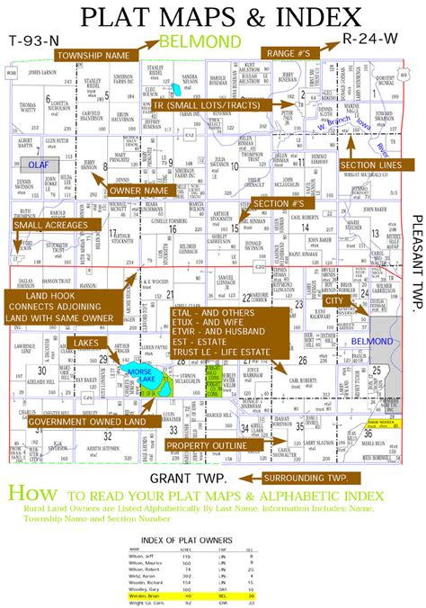 plat maps county plat map plat maps of each county county maps show property lines acres and plat