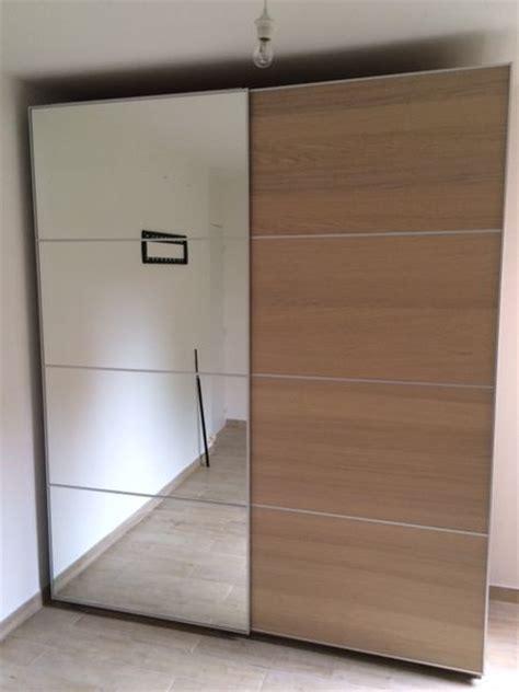 armoire chene blanchi armoire penderie ikea clasf
