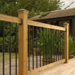 wooden deck kits railsimple wood railing kits traditional series pine