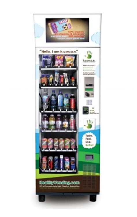 healthy food vending machine franchise 10 reasons to choose human s healthy vending franchise