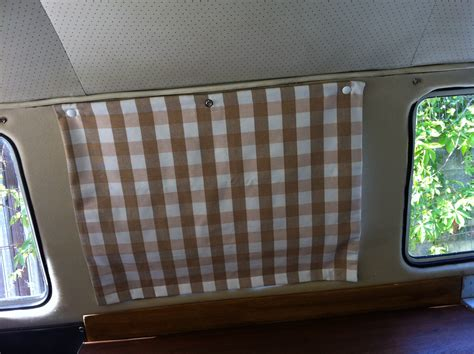 how to make rv curtains cer poppered blinds delilah s vw cer furnishings