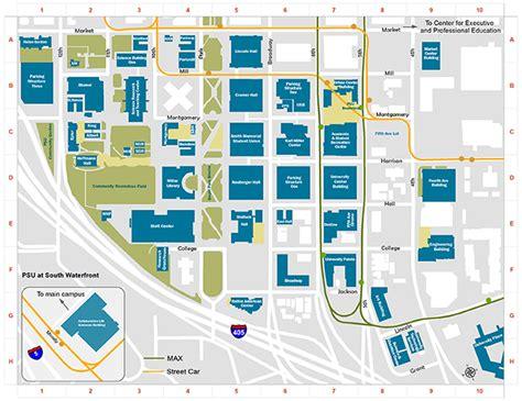Main Street Village Irvine Floor Plans portland state university campus map