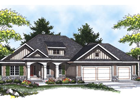 Arts And Crafts Home Plans by Beale Arts And Crafts Home Plan 051d 0530 House Plans