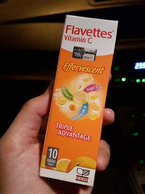 Vitamin Anak Flavettes Effervescent Vitamin C 1000mg Reviews