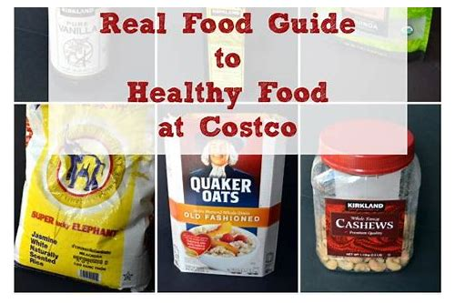 best healthy deals at costco