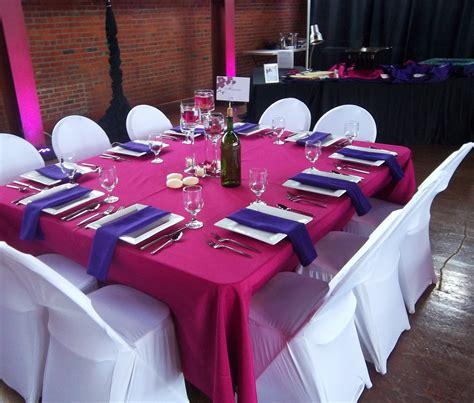 wedding table settings purple springfield wedding harpist ceremony at the artisan s building the classic harpist