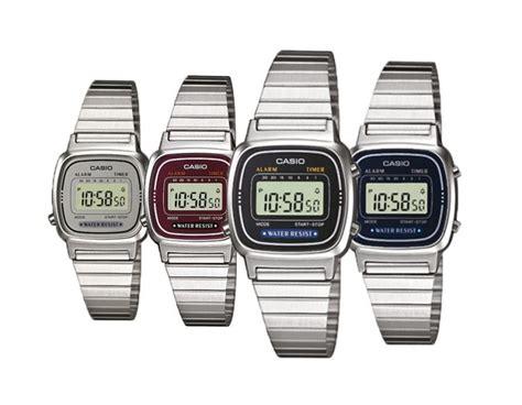 casio vintage piccolo orologio casio vintage la670w donna acciaio chrono
