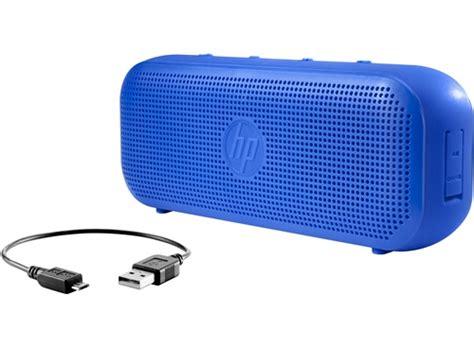 Speaker Bluetooth Hp hp bluetooth speaker 400 blue hp store singapore
